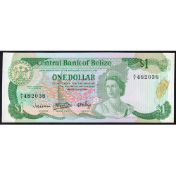 Belize - Pick 43 - 1 dollar - 01/07/1983 - Etat : NEUF