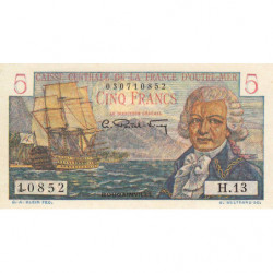 AEF - Pick 20B - 5 francs - France Outre-Mer - 1947 - Etat : pr.NEUF