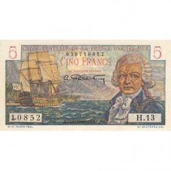 AEF - Pick 20B - 5 francs - France Outre-Mer - Série H.13 - 1947 - Etat : pr.NEUF