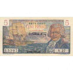 AEF - Pick 20B - 5 francs - France Outre-Mer - Série V.27 - 1947 - Etat : SUP