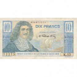AEF - Pick 21 - 10 francs - France Outre-Mer - Série K.13 - 1947 - Etat : TB