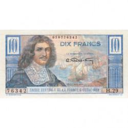 AEF - Pick 21 - 10 francs - France Outre-Mer - 1947 - Etat : SUP