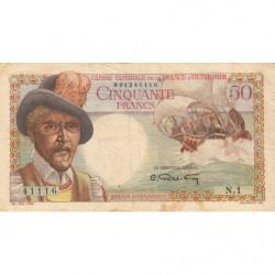 AEF - Pick 23 - 50 francs - France Outre-Mer - 1947 - Etat : TB+