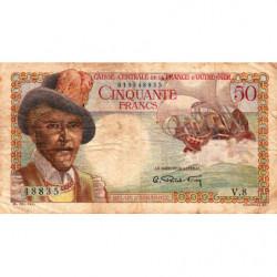 AEF - Pick 23 - 50 francs - France Outre-Mer - 1947 - Etat : B+