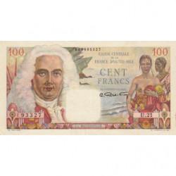 AEF - Pick 24 - 100 francs - France Outre-Mer - Série U.21 - 1947 - Etat : SUP