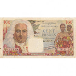 AEF - Pick 24 - 100 francs - France Outre-Mer - 1947 - Etat : TTB+