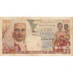 AEF - Pick 24 - 100 francs - France Outre-Mer - Série Y.21 - 1947 - Etat : TTB-
