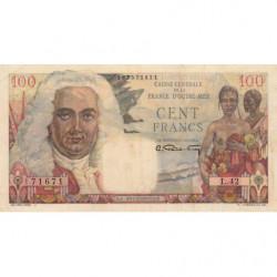 AEF - Pick 24 - 100 francs - France Outre-Mer - Série L.42 - 1947 - Etat : SUP