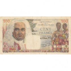AEF - Pick 24 - 100 francs - France Outre-Mer - Série E.102 - 1947 - Etat : TTB-