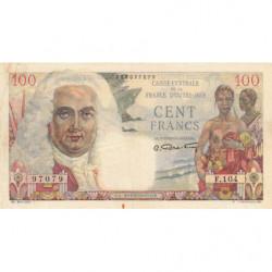 AEF - Pick 24 - 100 francs - France Outre-Mer - 1947 - Etat : SUP