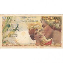 AEF - Pick 26 - 1'000 francs - France Outre-Mer - 1947 - Etat : TTB-