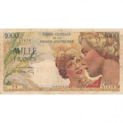 AEF - Pick 26 - 1'000 francs - France Outre-Mer - 1947 - Etat : TB