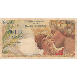 AEF - Pick 26 - 1'000 francs - France Outre-Mer - Série T.08 - 1947 - Etat : TB