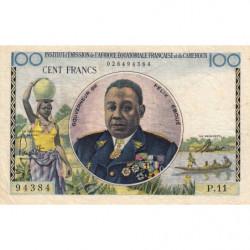AEF - Pick 32 - 100 francs - 1957 - Etat : TTB+