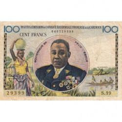 AEF - Pick 32 - 100 francs - 1957 - Etat : TB