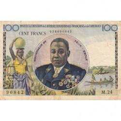 AEF - Pick 32 - 100 francs - 1957 - Etat : TTB-