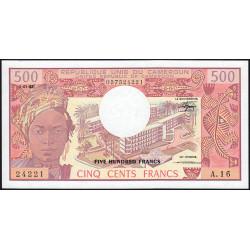 Cameroun - Pick 15d_2 - 500 francs - Série A.16 - 01/01/1983 - Etat : NEUF