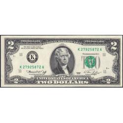 Etats Unis d'Amérique - Pick 461 - 2 dollars - 1976 - K : Dallas - Etat : NEUF