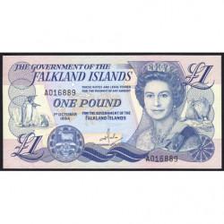 Falkland (iles) - Pick 13 - 1 pounds - 01/10/1984 - Etat : NEUF