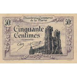Châlons-sur-Marne / Epernay / Reims - Pirot 43-1 - 50 centimes - 10/10/1920 - Etat : TTB
