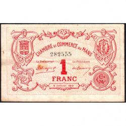 Le Mans - Pirot 69-05 - 1 franc - 1915 - Etat : TB-