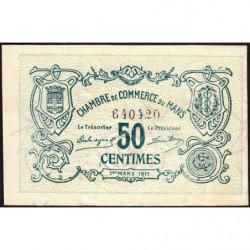 Le Mans - Pirot 69-9 - 50 centimes - 01/03/1917 - Etat : SUP