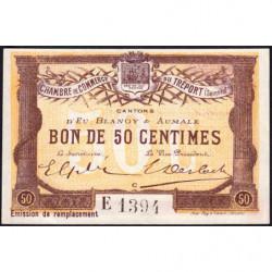 Le Tréport - Pirot 71-17 - 50 centimes - Lettre C - Série E - Émission de remplacement - 1916 - Etat : pr.NEUF