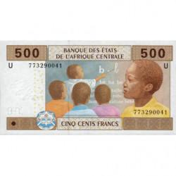 Cameroun - Afrique Centrale - P 206Ue - 500 francs - 2017 - Etat : NEUF