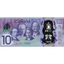 Canada - Pick 112 - 10 dollar - 2018 - Polymère commémoratif - Etat : NEUF