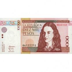Colombie - Pick 453q - 10'000 pesos - 04/09/2013 - Etat : NEUF