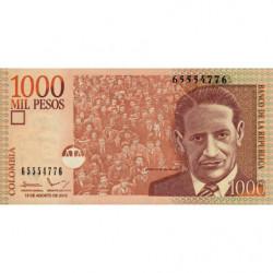 Colombie - Pick 456t - 1'000 pesos - 19/09/2015 - Etat : NEUF