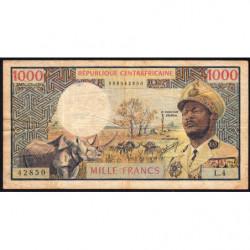 Centrafrique - Pick 2 - 1'000 francs - Série L.4 - 1974 - Etat : TB-