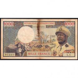 Centrafrique - Pick 2 - 1'000 francs - Série L.5 - 1974 - Etat : TB-