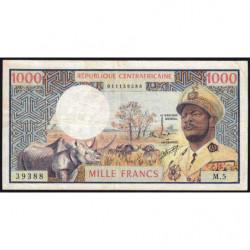 Centrafrique - Pick 2 - 1'000 francs - Série M.5 - 1974 - Etat : TTB-