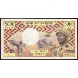 Centrafrique - Pick 7 - 5'000 francs - 1978 - Etat : TB+