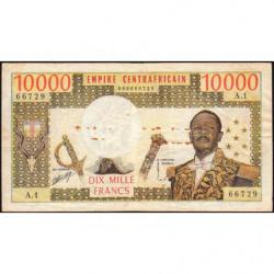Centrafrique - Pick 8 - 10'000 francs - 1978 - Etat : TB-