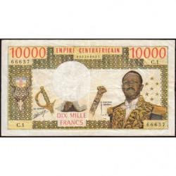 Centrafrique - Pick 8 - 10'000 francs - Série C.1 - 1978 - Etat : TB+