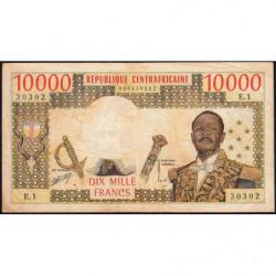 Centrafrique - Pick 8 - 10'000 francs - Série E.1 - 1978 - Etat : TB-
