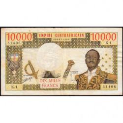Centrafrique - Pick 8 - 10'000 francs - Série K.1 - 1978 - Etat : TB+