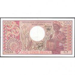 Centrafrique - Pick 9_3 - 500 francs - Série C.7 - 01/06/1981 - Etat : TTB+