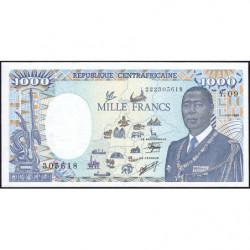 Centrafrique - Pick 16_5 - 1'000 francs - 01/01/1990 - Etat : NEUF