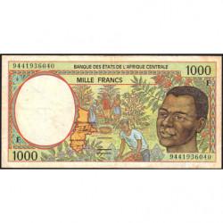 Centrafrique - Afr. Centrale - Pick 302Fb - 1'000 francs - 1994 - Etat : TB+
