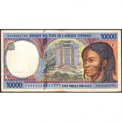 Centrafrique - Afr. Centrale - Pick 305Fa - 10'000 francs - 1994 - Etat : TB+