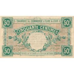 Chartres (Eure-et-Loir) - Pirot 45-1 - 50 centimes - 1915 - Etat : TTB