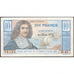 AEF - Pick 21 - 10 francs - France Outre-Mer - Série H.40 - 1947 - Etat : SUP