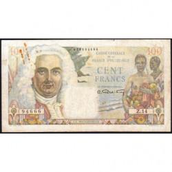 AEF - Pick 24 - 100 francs - France Outre-Mer - Série Z.14 - 1947 - Etat : TB