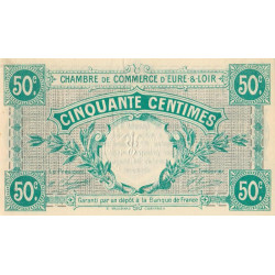 Chartres (Eure-et-Loir) - Pirot 45-1 - 50 centimes - 01/10/1915 - Etat : SUP