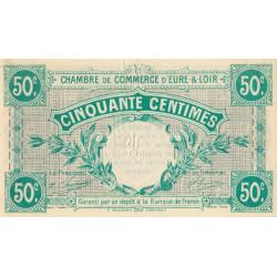 Chartres (Eure-et-Loir) - Pirot 45-1 - 50 centimes - 1915 - Etat : SUP