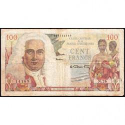 AEF - Pick 24 - 100 francs - France Outre-Mer - Série N.26 - 1947 - Etat : TB-