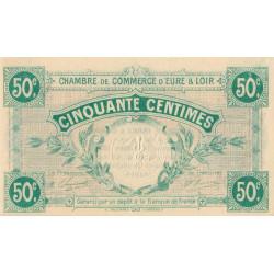 Chartres (Eure-et-Loir) - Pirot 45-1 - 50 centimes - 1915 - Etat : SPL